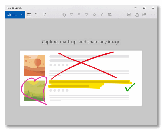 Snipping Tool vs  Snip & Sketch – Cloudeight InfoAve