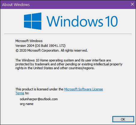Windows 10 version 2004 - Cloudeight InfoAve Windows 10 Tips