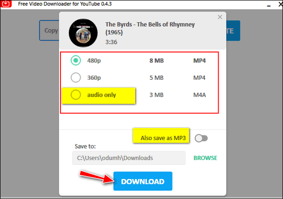 Cloudeight Freeware Pick Free Video Downloader for YouTube