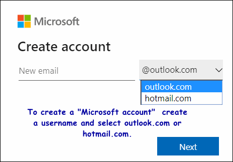 Get a Microsoft account 0Cloudeight Windows 10 Tips