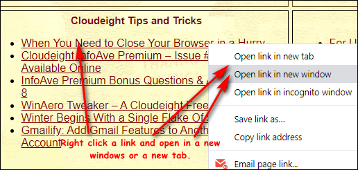 Cloudeight InfoAve Computer Tips & Tricks