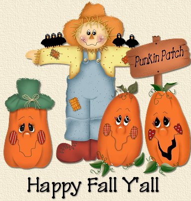 Happy Fall Ya'll by RedRose Stationery