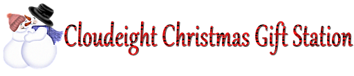 Cloudeight Christmas Donation and Gift Station