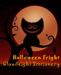 Halloween Fright Stationery Collection by Cloudeight Stationery