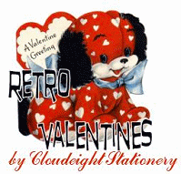 Cloudeight Stationery - Retro Valentines