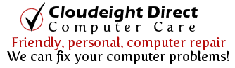 Cloudeight Direct Computer Care - Friendly, personal computer repair