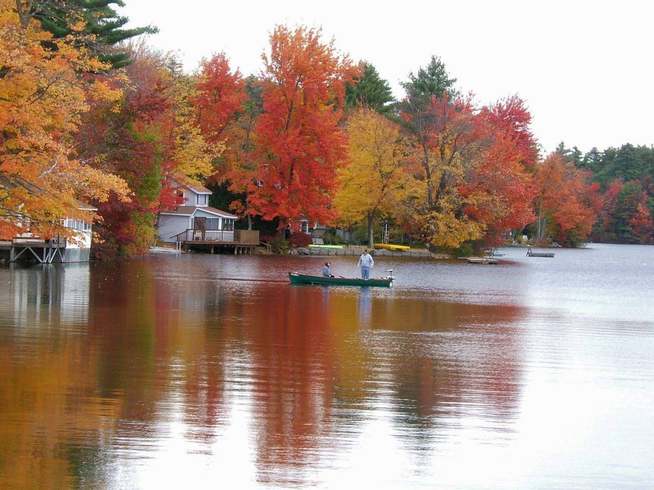 Gray, Maine, Crystal lake