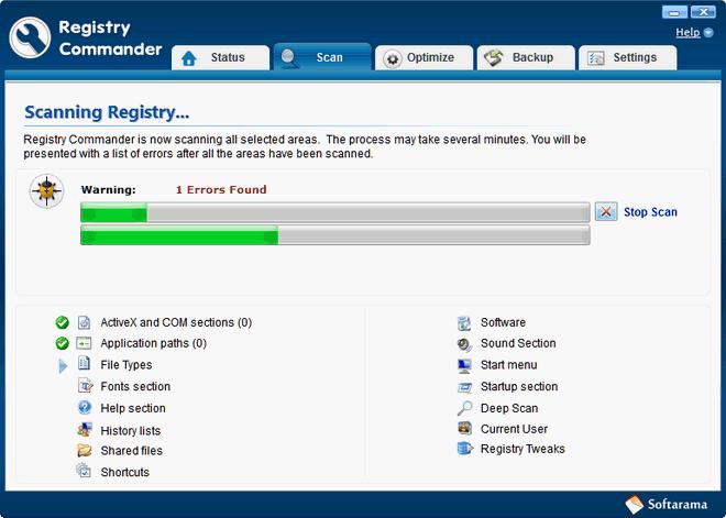 Registry Commander - Cloudeight Internet review