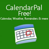 CalendarPal - FREE! - Caldendar, Weather, Reminders, and more!