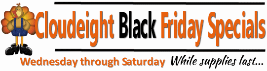 Cloudeight Black Friday Specials
