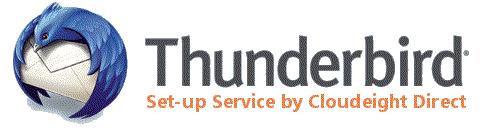 Cloudeight Internet -Thunderbird Mail Set-up Service