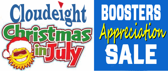 Cloudeight Boosters Christmas In July Appreciation Sale