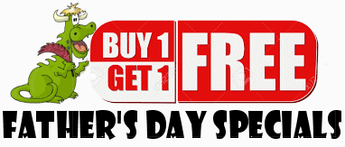 Buy One Get One Free Father's Day Specials from Cloudeight