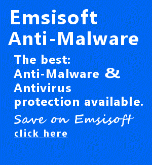 Emsisoft Anti-Malware - the best protection for your computer.