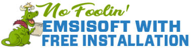 No Foolin' Special - Emsisoft with Free Installation