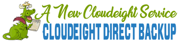 New! Cloudeight Direct Backup Service