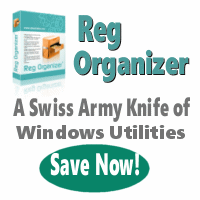 Reg Organizer - A Swiss Army Knife of Useful Windows Utilities