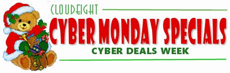 Cloudeight Cyber Monday Deals Week