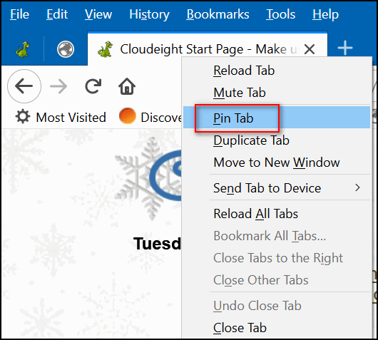 Cloudeight InfoAve Browser tips