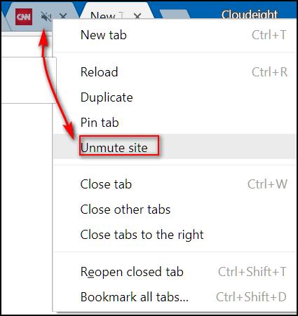 Cloudeight Chrome Tips