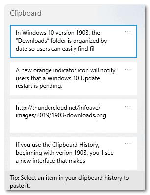 Windows 10 Version 1903 - Cloudeight InfoAve
