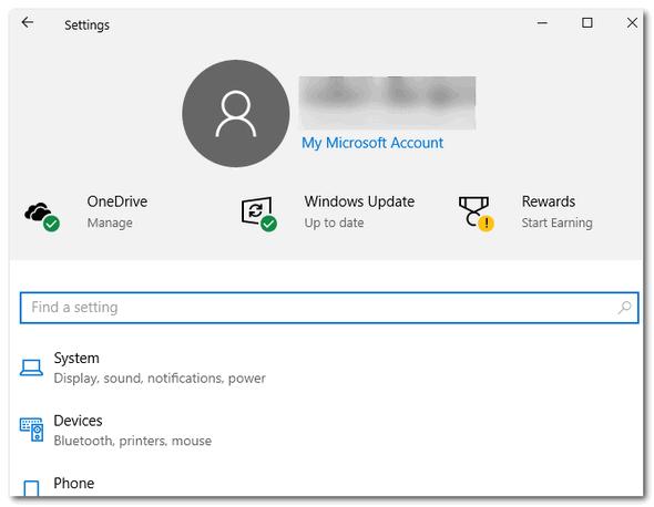 Settings App - Windows 10 Version 1903 -Cloudeight InfoAve