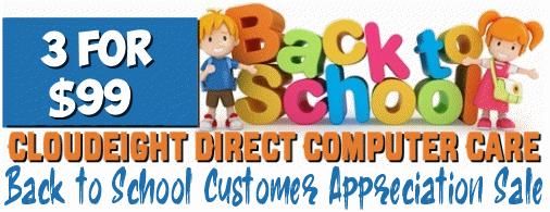 Back to School Customer Appreciation Sale