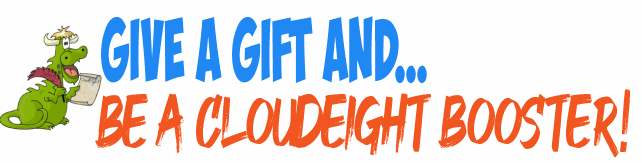 Cloudeight Internet - Help us with your gift
