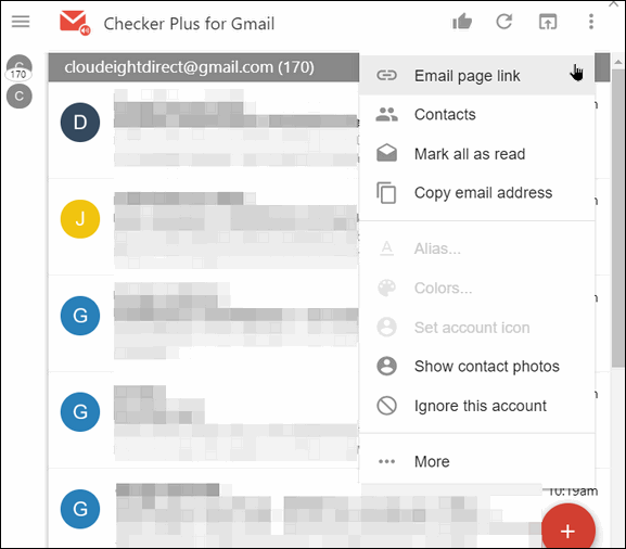 Checker Plus for Gmail - A Cloudeight Freeware Pick