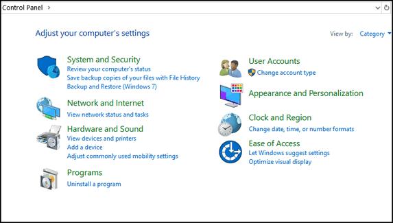Control Panel vs. Settings - Cloudeight Windows 10 Tips