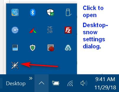 Cloudeight InfoAve Freeware Pick - DesktopSnowOK
