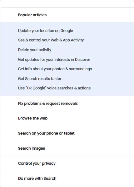Cloudeight Google Tips