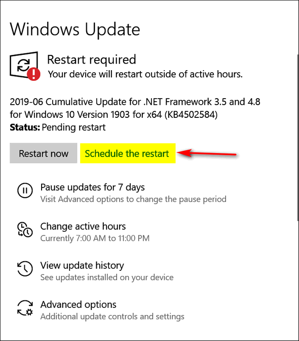 Windows 10 Version 1903 Windows Update- Cloudeight Windows Tips
