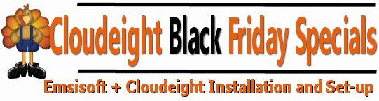 Cloudeight Black Friday Sale