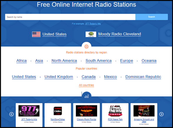 Online Radio Box - A Cloudeight Site Pick