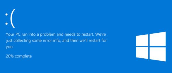 Windows 10 Blue Screen Error Cloudeight Windows 10 tips