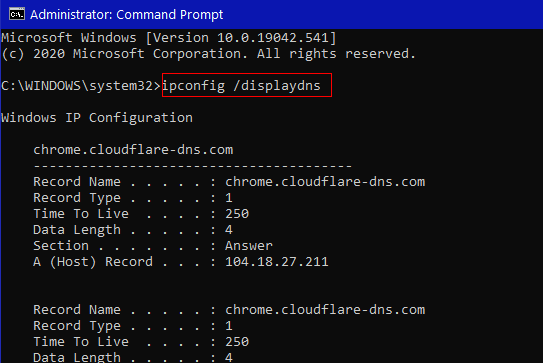 Cloudeight InfoAve Windows 10 Tips - DNS CACHE