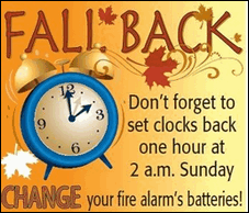 Cloudeight InfoAve Daylight Savings Time Ends