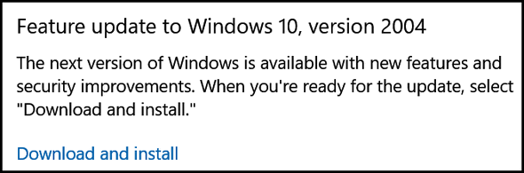 Cloudeight Windows 10 Version 2004