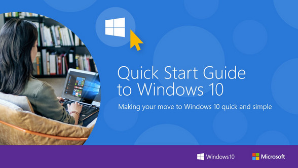 ?Quick Start Guide to Windows 10