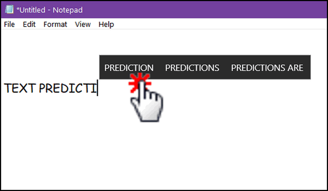 Cloudeight InfoAve Windows 10 Tips - Text Prediction