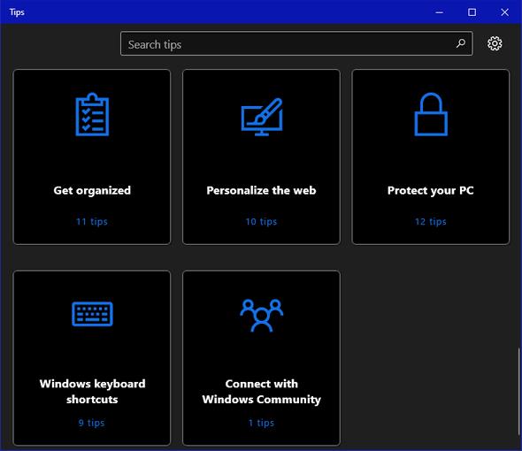 Windows 10 Tips App - Cloudeight