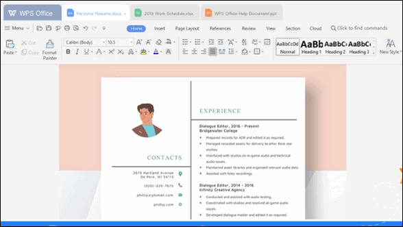 WPS Office Free - Cloudeight Freeware Pick