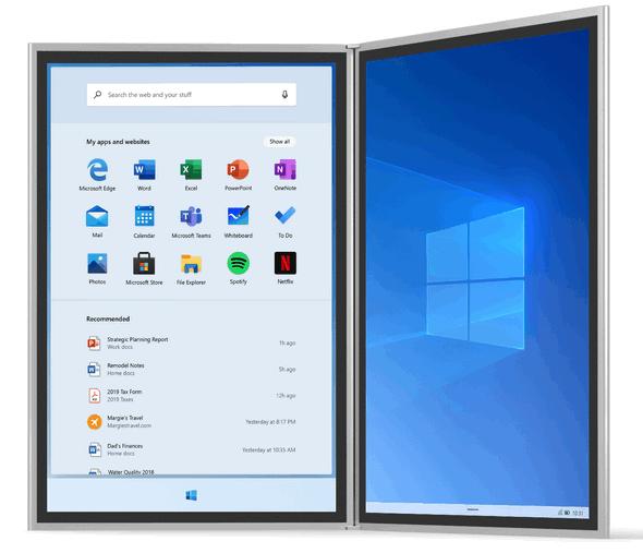 Windows 10x - Windows Blog - Cloudeight InfoAve