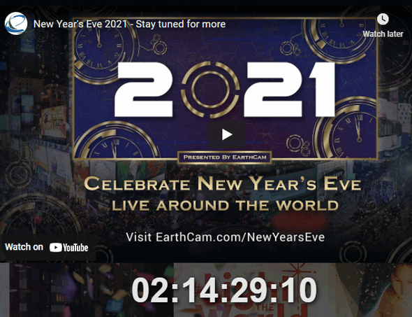 Watch New Year's Eve Celebrations All Over The World