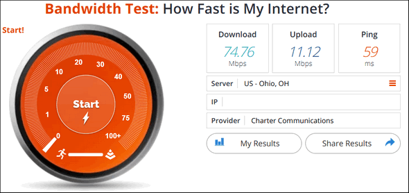 Internet Speed Tests - Cloudeight InfoAve