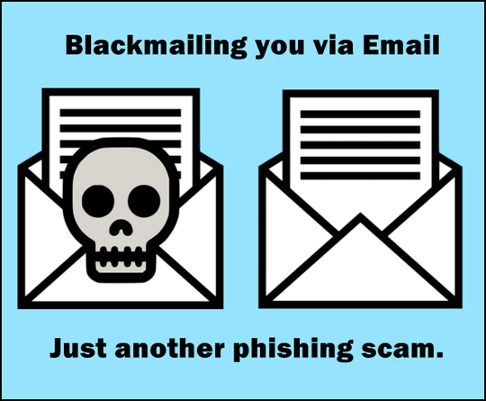 Blackmail-Extortion Email Scams - Cloudeight keeping you safe.