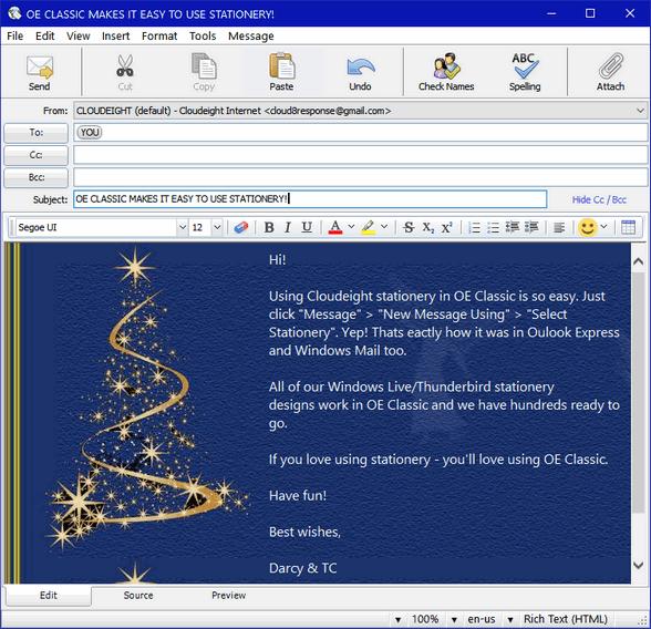 OE Classic Email Program
