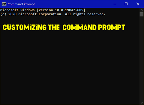 Cloudeight InfoAve - Customizing the Command Prompt