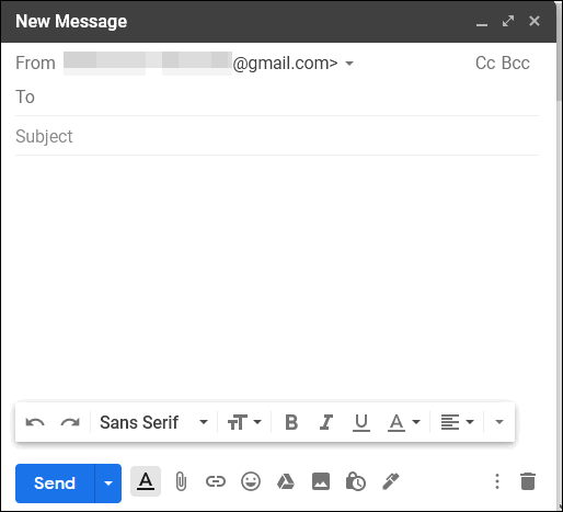 Gmail Compose Window Default Size - Cloudeight